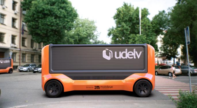 Udelv, Mobileye Partner On Autonomous Delivery Vehicles