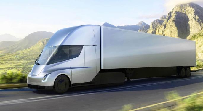 Musk: It's Time For Tesla Semi To Get On The Road
