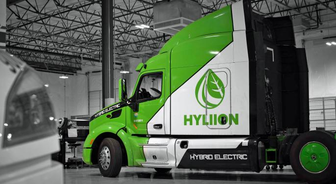 Hyliion Takes Reverse Merger Path To Public Trading
