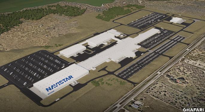 Navistar Will Build Electric Trucks At New Plant In Texas