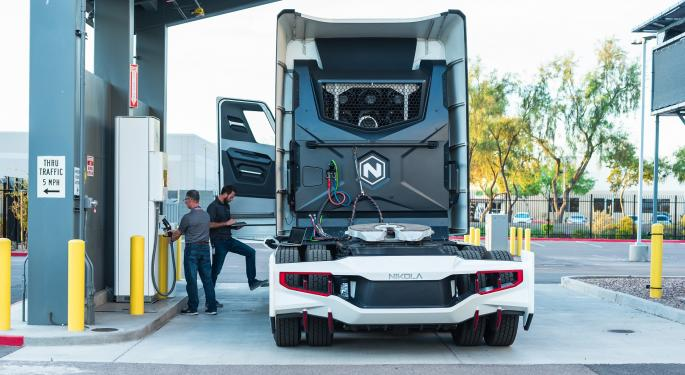 Nikola Will Truck Hydrogen To Stations When Electricity Costs Too Much