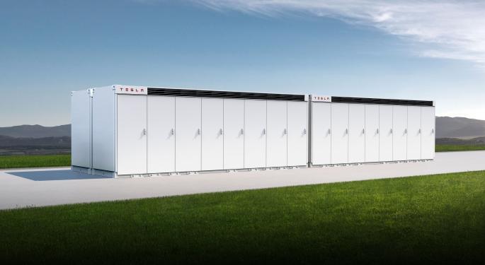 Las pruebas del Megapack de Tesla se reanudan el miércoles
