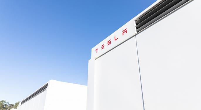 Tesla Megapack In Australia Catches Fire