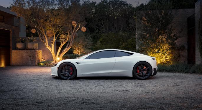 Musk dice que el Roadster de Tesla se retrasará hasta 2023