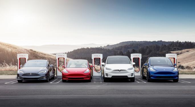 Why Tesla's Charging Stations Are A Key Advantage For Its Future