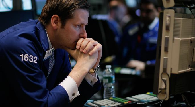 Stocks Lower As Earnings Season Takes Back Seat To Geopolitical Uncertainties