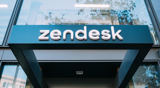 Oppenehimer Says Zendesk's Moderating Upside Prevents A Bullish Stance