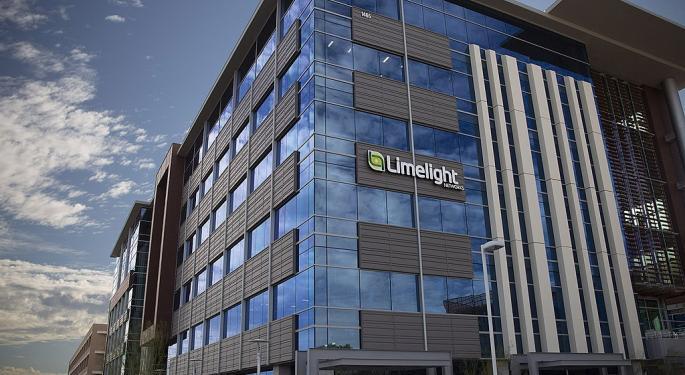 Cowen Downgrades Limelight Networks On Revenue Growth, Gross Margin Headwinds