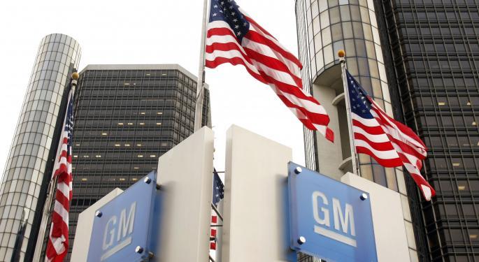 Timeline: General Motors Stock Since 2010 Initial Public Offering