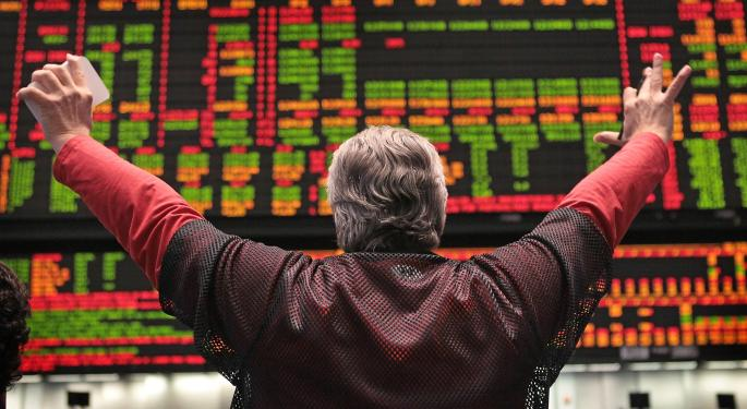 Mid-Day Market Update: Finisar Shares Jump On Strong Outlook, First Solar Tumbles
