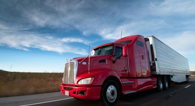 Transport ETFs Keep On Trucking Higher