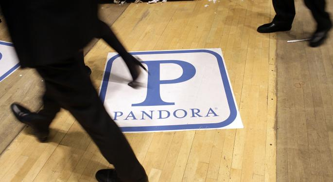 Wall Street Reacts To Pandora's Federal Rate Court Loss