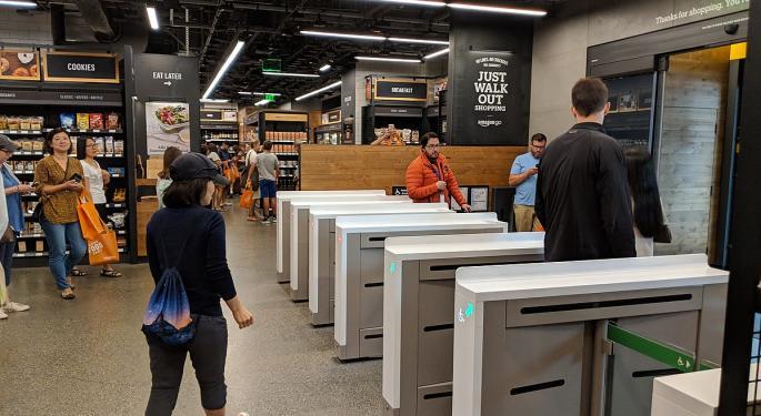 Morgan Stanley Bullish On Amazon's New Automated Stores