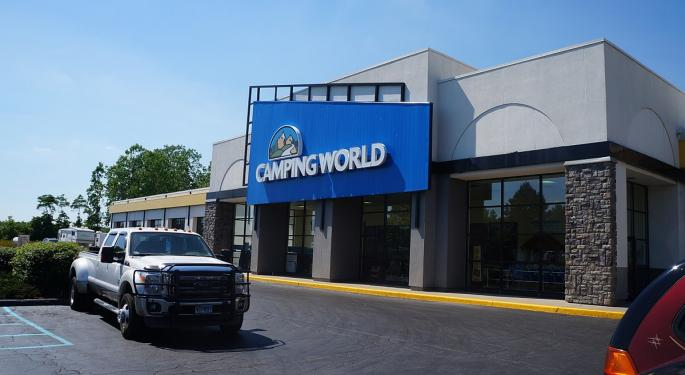 Camping World Downgraded By Goldman Sachs, Fear Of RV Industry Slowdown Persists