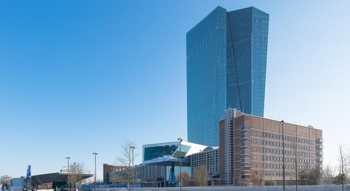 ECB Restarts Quantitative Easing, Cuts Deposit Rate By 10 Basis Points