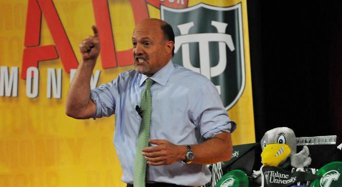 Cramer Calls Wednesday's GameStop Surge 'A Mockery'