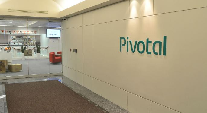 Analyst: Here's What's Driving Pivotal Software's Post-Earnings Weakness