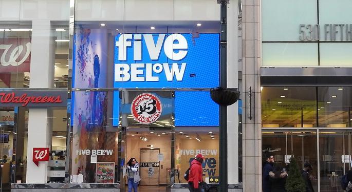 BofA: Five Below Has Upside To $150