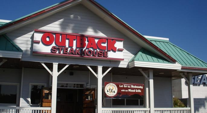 JPMorgan: Bloomin' Brands Shares Are Trading At Unwarranted Discount To Peers