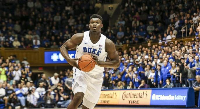 Zion Williamson Signs Shoe Deal With Nike's Jordan Brand