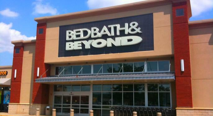 What's Up With Bed Bath & Beyond Today?