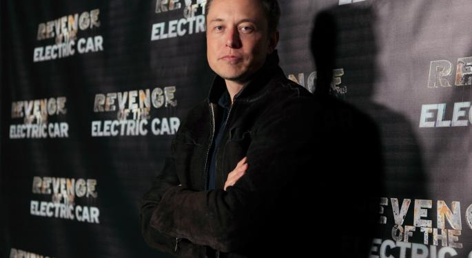 Elon Musk: Tesla Is 'Unlikely' To Satisfy Demand In China In 2014