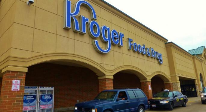 Kroger, Target Trade Higher Amid Report The Companies Are Discussing A Merger