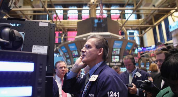 Mid-Morning Market Update: Markets Fall; Joy Global Profit Misses Estimates