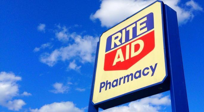 Why Rite Aid's Stock Is Trading Lower Today