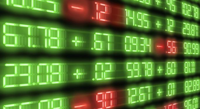 Mid-Morning Market Update: Markets Tumble; Morgan Stanley Profit Misses Estimates