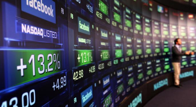 Mid-Morning Market Update: Markets Open Lower; Goldman Sachs Revenue Drops 20%