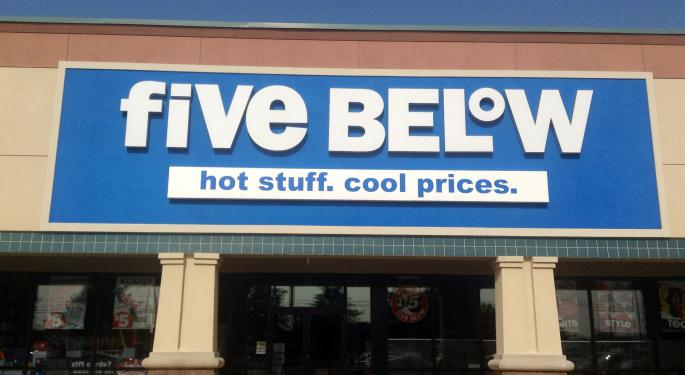 The Street's Reaction To Five Below's Earnings, Tariff Commentary