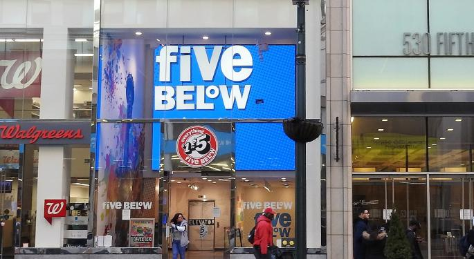 The Street Debates Whether Five Below's Stock Is A Bargain