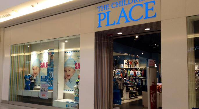 Why Children's Place Stock Is Trading Higher Today