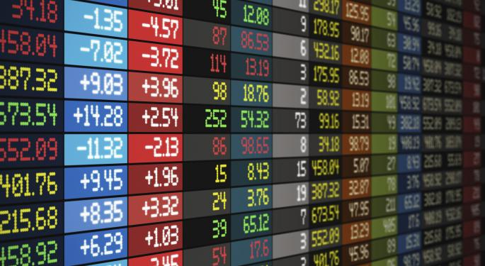 Mid-Day Market Update: Dycom Jumps On Upbeat Results; Amira Nature Foods Shares Slip