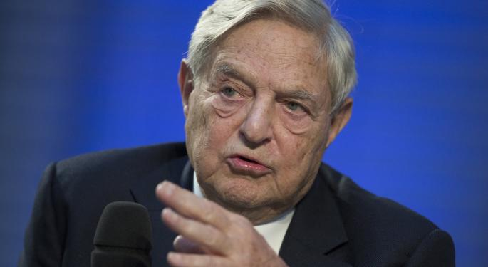 George Soros' Latest Moves: Energy, Tech, ETFs, Pharma & More