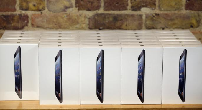 iPad Shipments Increase In Q4 After Retina Mini Sold Out On Black Friday