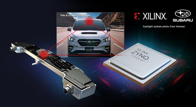 Subaru Chooses Xilinx Technology For New Driver Assistance System