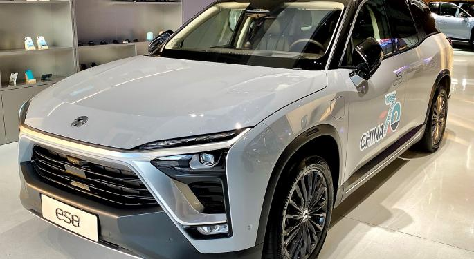 Nio Grabbed 23% Share Of China's All-Electric SUV Market In April, Ahead Of Tesla's 17%