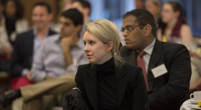 Elizabeth Holmes Doesn't Want Jury To Hear How Much She Made, Court Filings Show
