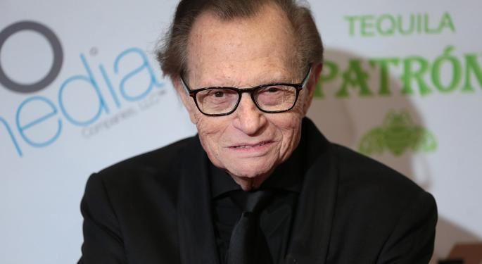 Legendary TV And Radio Host Larry King Dies At 87