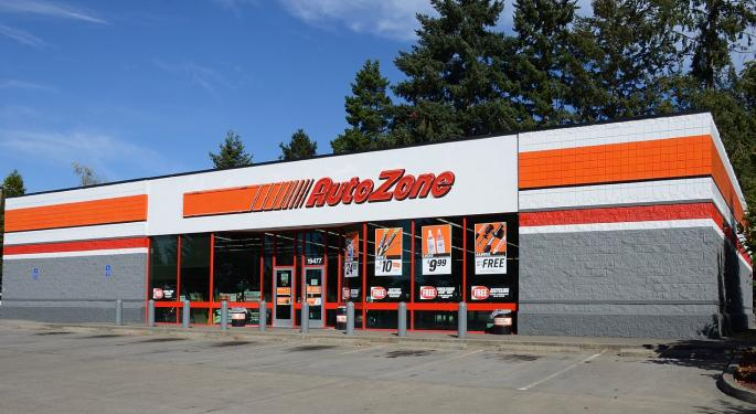 AutoZone Stock Down, But Sell-Side Says Engine Running Just Fine
