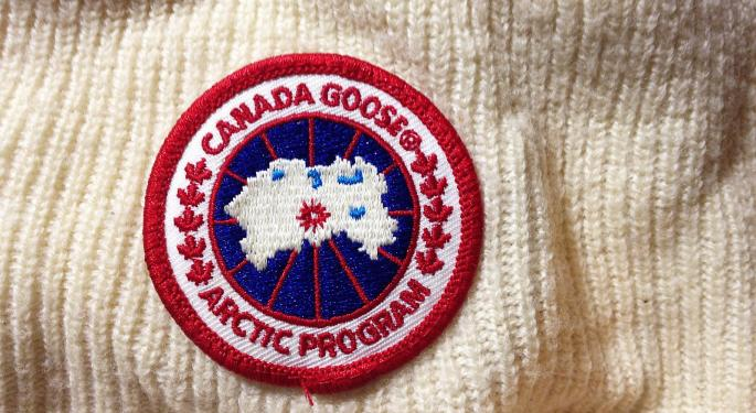 BofA Downgrades Canada Goose On Projected Revenue Decline