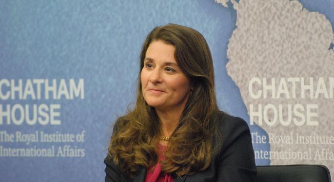 Divorce Asset Split Starts: Melinda Gates Now Owns Stakes In These 4 Stocks