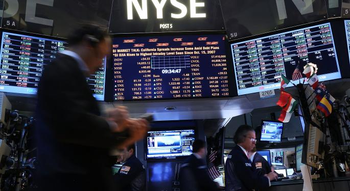 Mid-Morning Market Update: Markets Rise; Comtech Posts Upbeat Results