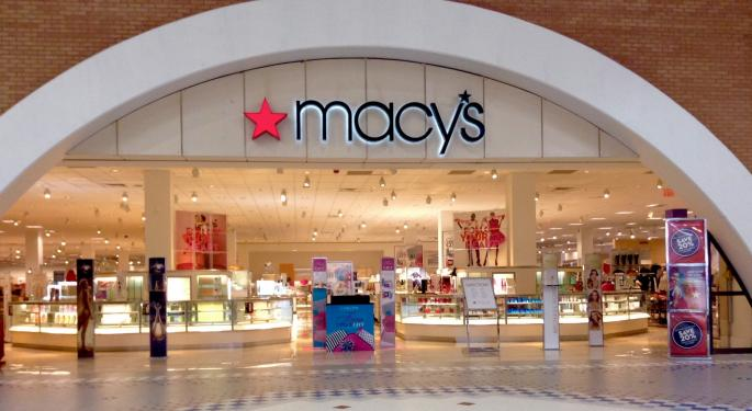 Why Macy's Is Trading Higher Today