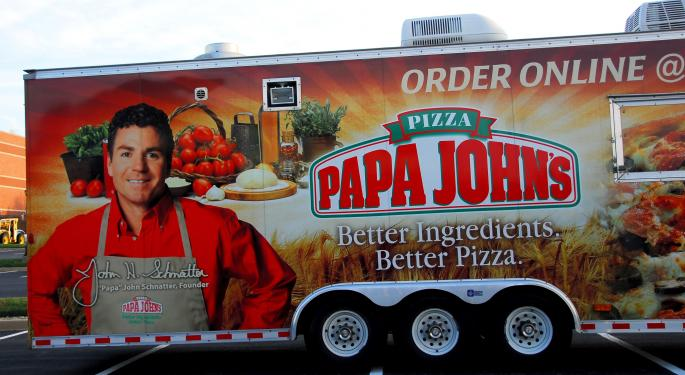 Papa John's Moves Higher Amid Potential Takeover Reports