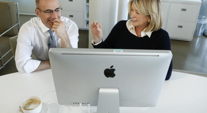 Goodbye eBay, Hello Amazon: Martha Stewart Switches Teams