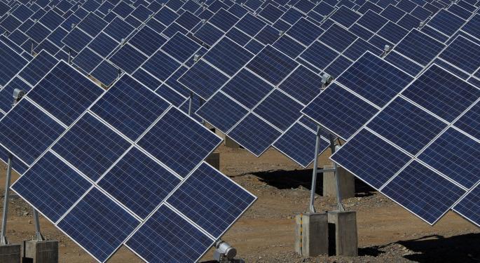 Solar Stocks Shine as Short Interest Surges