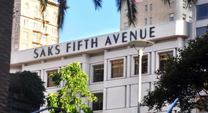 Saks Gains Buying Power Via Sale To Hudson's Bay SKS
